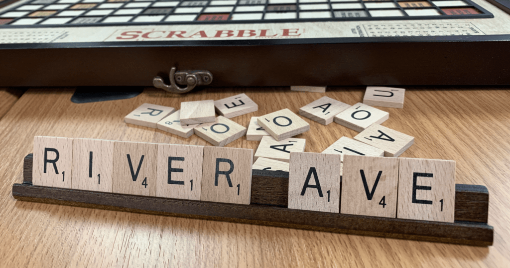 River Avenue Digital Scrabble