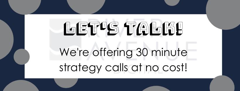 River Avenue Digital: free marketing strategy calls